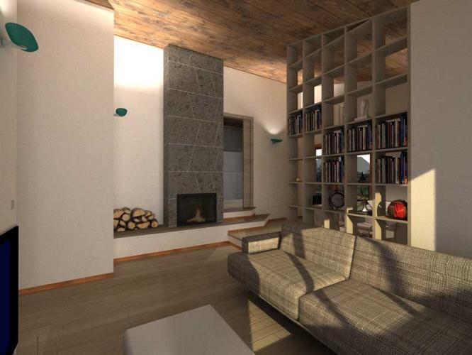 Ampliamento piano casa abitazione agricola in legno as p - Piano casa condominio lazio ...